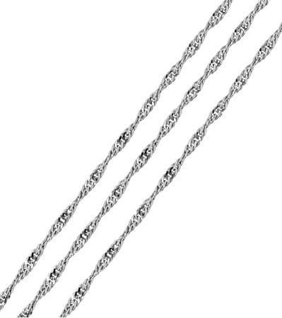 Brilio Silver Ezüstlánc Lambada 45 cm 471 086 00009 04 - 2,10 g ezüst 925/1000