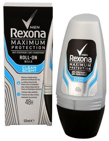 Rexona Férfi klinikai tiszta illat 50 ml izzadásgátló