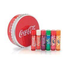 Lip Smacker Coca Cola Tin Box Cap Balsam 6 szt 050 051 237 276