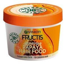 Garnier Obnovujúci maska na poškodené vlasy Fructis ( Papaya Hair Food) 390 ml