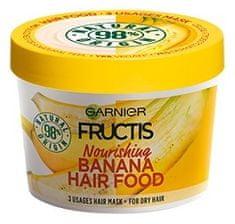 Garnier Vyživujúci maska na suché vlasy Fructis (Banana Hair Food) 390 ml