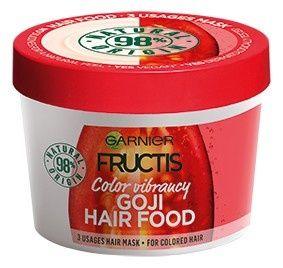 Garnier Maska na barvené vlasy Fructis (Goji Hair Food) 390 ml
