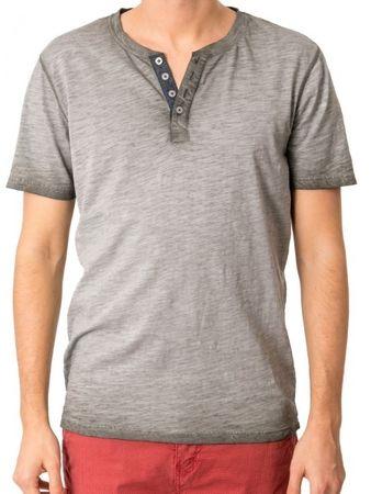 Heavy Tools Pánske tričko Minot S18-238 Khaki (Veľkosť M)