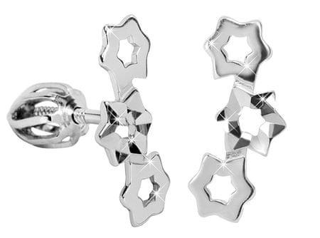 Brilio Silver Srebrni uhani 431 001 02754 04 - 1,08 g srebro 925/1000