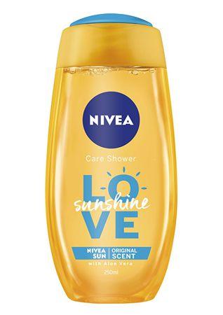 Nivea Love Sunshine frissítő tusfürdő (mennyiség 250 ml)