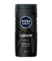 Nivea Sprchový gél pre mužov Deep (Clean Shower Gel) 250 ml