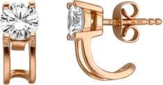 Esprit Bronzové náušnice so zirkónmi ESER00101300 striebro 925/1000