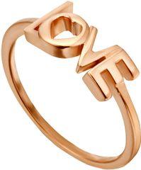 Esprit Love Amory vörös arannyal bevont gyűrű ESRG0023131 ezüst 925/1000