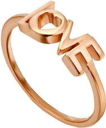 Esprit Bronasti prstan Love Amory ESRG0023131 (Vezje 51 mm) srebro 925/1000