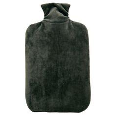 Hugo Frosch Termofor Eco Classic Comfort so zamatovým obalom - mesačný šedá
