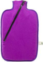 Hugo Frosch Termofor Eco Classic Comfort sa softshellovým obalom na zips - fialový