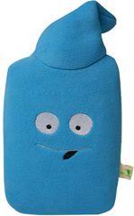 Hugo Frosch Detský termofor Eco Junior Comfort s fleecovým obalom - modrý