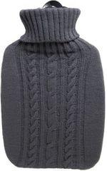 Hugo Frosch Termofor Classic s pleteným obalom - sivý