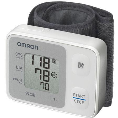 Omron Csuklós digitális vérnyomásmérőRS2