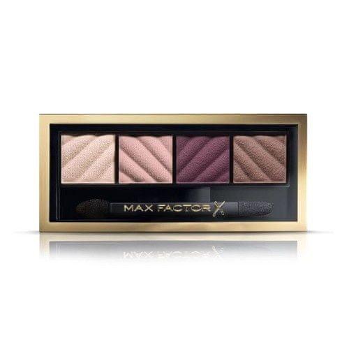 Max Factor Paletka matných očních stínů s aplikátorem (Smokey Eye Matte Drama) 1,8 g (Odstín 40 Hypnotic Jade)