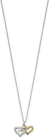 Morellato Srebrna ogrlica United heart Cuori SAIV23 (veriga, obesek) srebro 925/1000