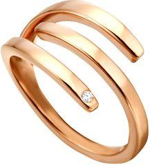 Esprit Iva elegáns vörös arannyal bevontgyűrű ESRG001616