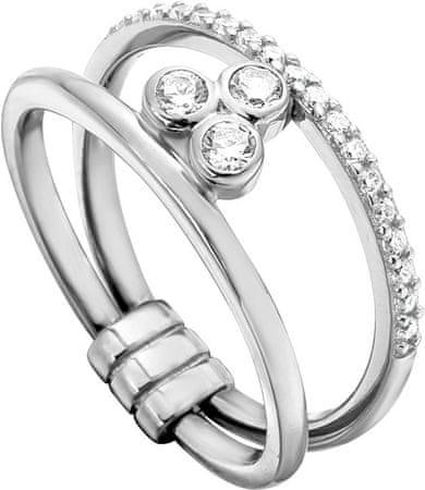 Esprit Srebrni prstan z cirkoni Play ESRG001911 (Obseg 54 mm) srebro 925/1000