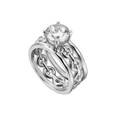 Esprit Ann ezüst gyűrű kristállyal ESRG002611 ezüst 925/1000