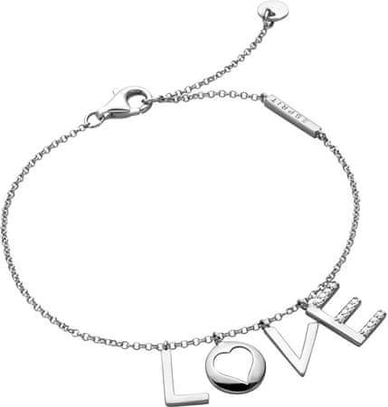 Esprit Srebrna zapestnica Love Amory ESBR00231118 srebro 925/1000