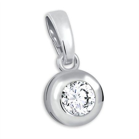 Brilio Silver Srebrn obesek s kamnom 446 001 00321 04 srebro 925/1000