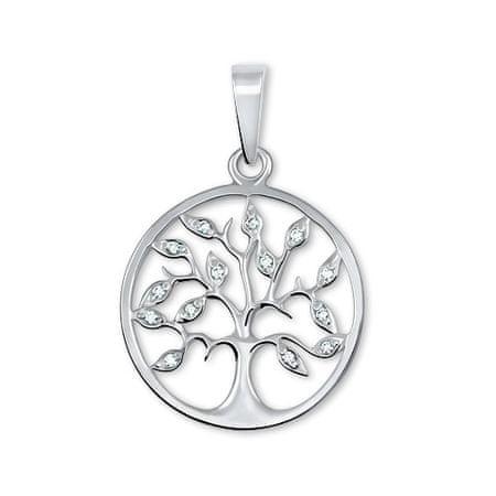 Brilio Silver Srebrn obesek Drevo življenja 446 001 00344 04 srebro 925/1000
