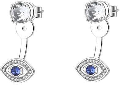 Brosway Náušnice s krystaly Affinity G9AF22 stříbro 925/1000