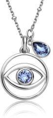 Brosway Stříbrný náhrdelník New Age G9NA02 (řetízek, přívěsek) stříbro 925/1000