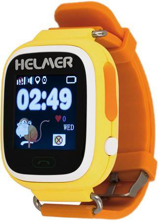 Helmer Okos érintőóra GPS helymeghatározóval sárga