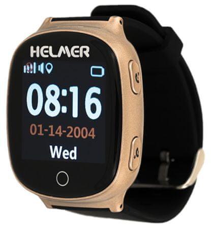 Helmer Pametna ura na dotik z GPS lokatorjem LK 705