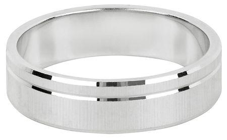 Brilio Silver Srebrni poročni prstan za moške in ženske 422 001 09073 04 - 4,84 g (Vezje 49 mm) srebro 925/1000