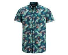 Jack&Jones Pánska košeľa Jorpaka Shirt SS Total Eclipse