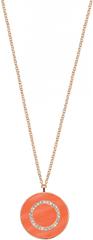 Morellato Bronzový náhrdelník zo striebra s príveskom Perfetti SALX10 (retiazka, prívesok) striebro 925/1000