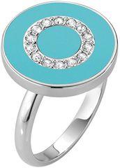 Morellato Srebrni prstan s kristali Perfetta SALX21 srebro 925/1000