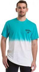 MEATFLY Férfi póló Spill 2 T-shirt B-White, Sky