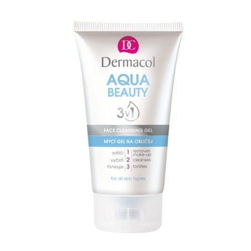Dermacol Umývací gél na tvár s morskými riasami Aqua Beauty 3v1 (Face Cleansing Gel) 150 ml