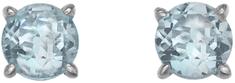 Hot Diamonds Strieborné náušnice Hot Diamonds Anais modrý Topaz AE012 striebro 925/1000