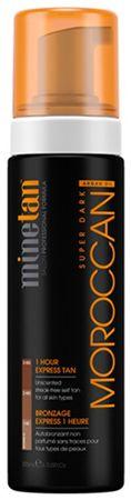 Minetan Samoopalovací pěna pro velmi tmavé opálení Moroccan (Super Dark 1 Hour Express Tan) 200 ml