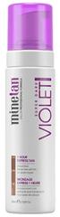 Minetan Samoopalovací pěna pro tmavé opálení Violet (Super Dark 1 Hour Express Tan) 200 ml