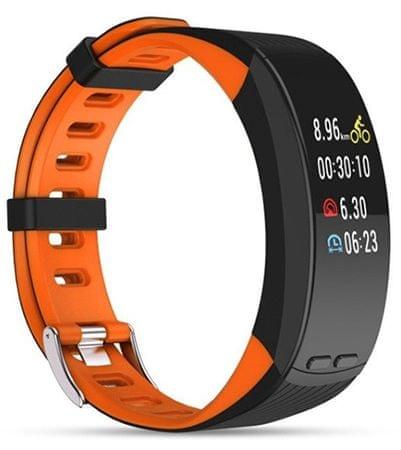Deveroux P5 fitness karkötő - narancssárga