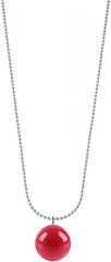 Morellato Jeklena ogrlica z roza obeskom Boule SALY15