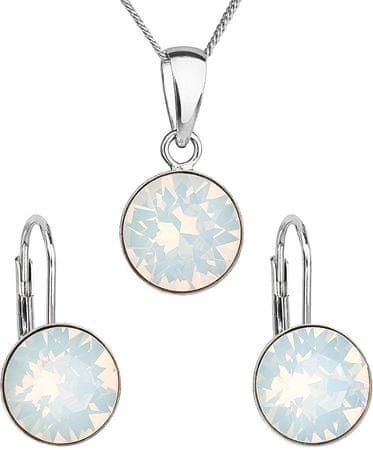 d9fc902a9 Strieborná súprava šperkov 39140.7 white opal (náušnice, retiazka,  prívesok) striebro 925/ ...