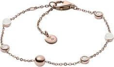 Skagen Damska stalowa bransoletka z kryształkami SKJ0971791