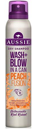 Aussie Suchy Szampon Wash + Blow Peach Fusio (Dry Shampoo) 180 ml