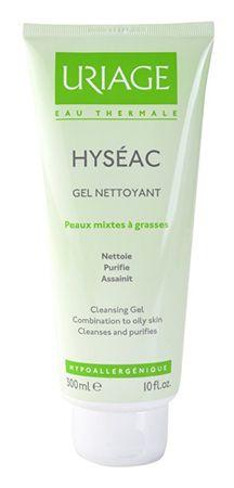 Uriage Čisticí gel pro smíšenou a mastnou pleť Hyséac (Cleasing Gel) (Objem 150 ml)