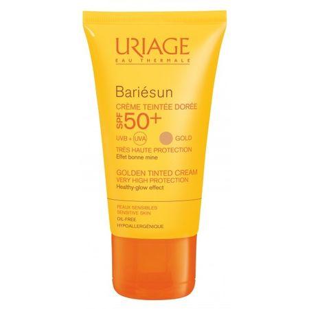 Uriage (Golden Tinted Cream) napfényvédő SPF 50+ Bariésun (Golden Tinted Cream) 50 ml