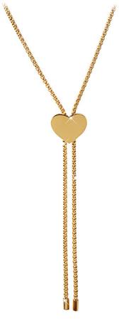Troli Aranyozott állítható nyaklánc szívvel