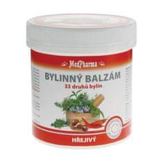 MedPharma Bylinný balzám hřejivý 33 druhů bylin 250 ml