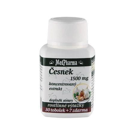 MedPharma Česnek 1500 mg 30 tob. + 7 tob. ZDARMA