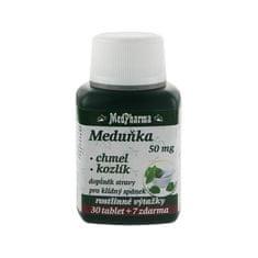 MedPharma Medovka 50 mg + chmeľ + valeriána 30 tbl. + 7 tbl. ZD ARMA